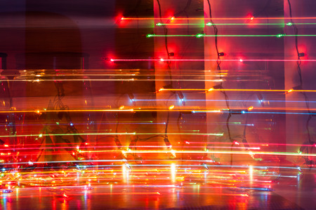 Abstract light painting background. Stock Photo