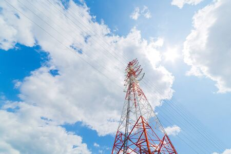 power line tower: High-voltage power line Tower