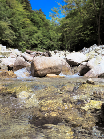 water resources: Water resources in the Western tanzawa
