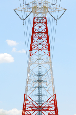fil de fer: High-voltage power line Tower