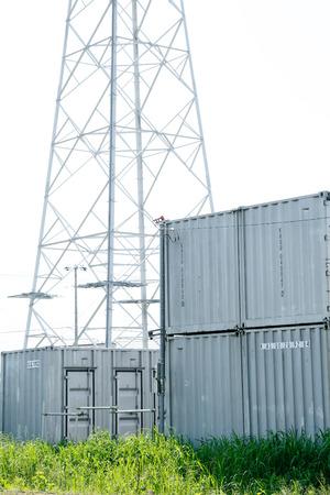 steel tower: Rental warehouses and steel Tower