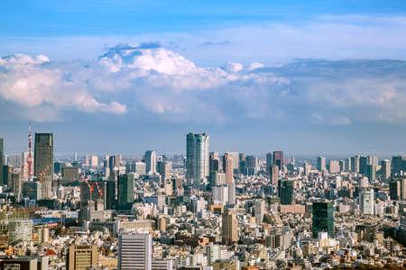 Landscape in Tokyo 免版税图像