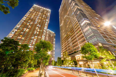 Tower Apartments in the Bay Area 免版税图像