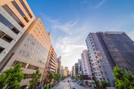 Dusk of Shinjuku 写真素材