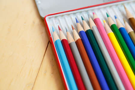 Colored pencils 写真素材