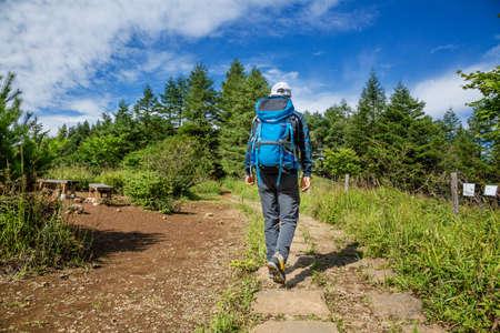 a pleasant morning trail