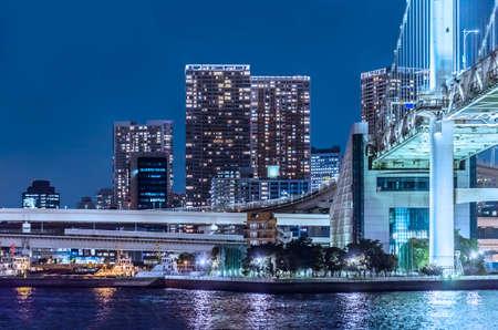 Night view of Tokyo