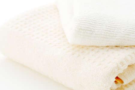 Clean towels Standard-Bild