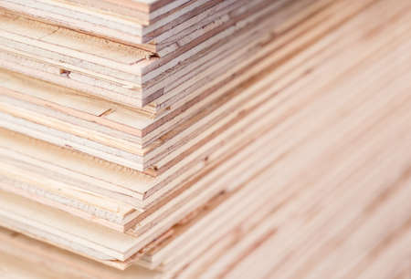 Plywood of residential building materials
