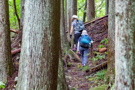 Mountain trails deep in the mountains Archivio Fotografico