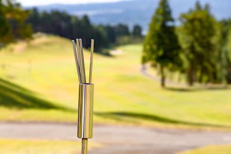 Golf Course Tee Ground