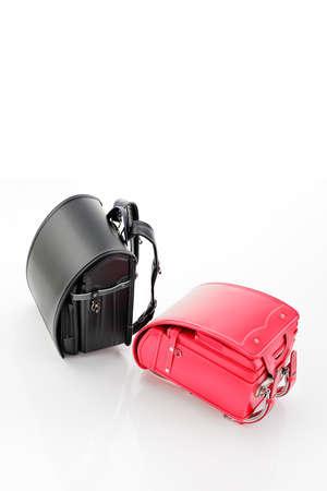 New school bags 写真素材