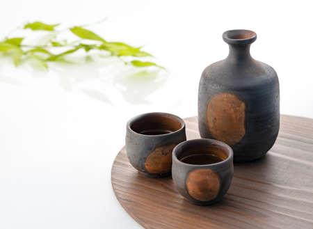 Tokuri and Inokuchi of Sake