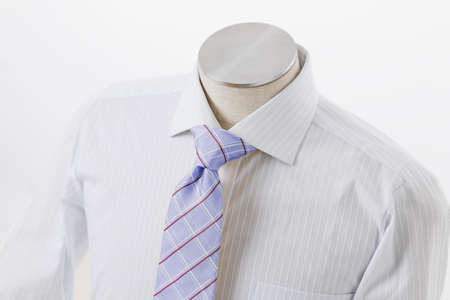 Clean shirt and colorful tie