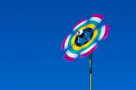 colourful pinwheel photo