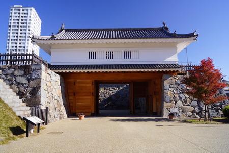 Kofu Castle 版權商用圖片 - 48731104