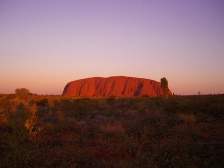 ayers: Uluru Stock Photo