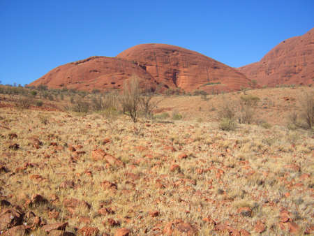 kata: Kata Tjuta Stock Photo