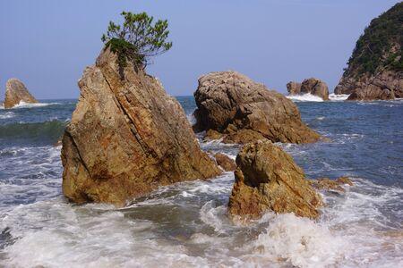 Uradome Coast Stock Photo