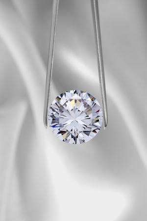 Gioielli con diamanti Archivio Fotografico - 45603088
