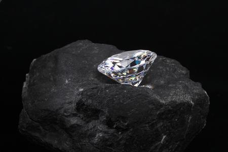 ダイヤモンドの原石 写真素材