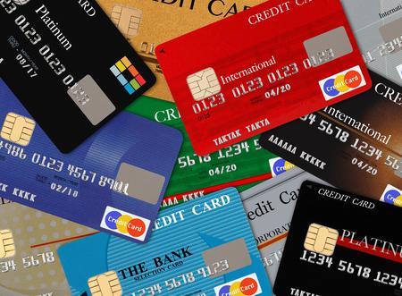Cartes de cr?t  Banque d'images - 45602918