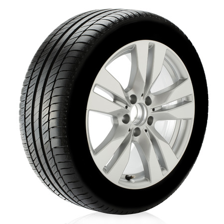 automobile tire: Tire Stock Photo