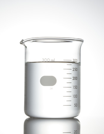 beakers: Beaker on white