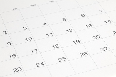 Kalender Stockfoto - 45812415