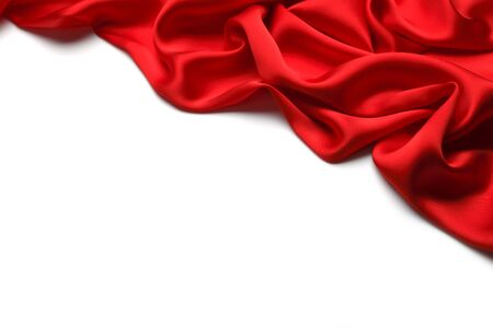 Red silk background Stock Photo - 45812530