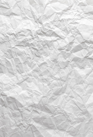 white paper: Crushed white paper texture