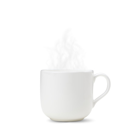 cup of coffee: Hot Coffee Stock Photo