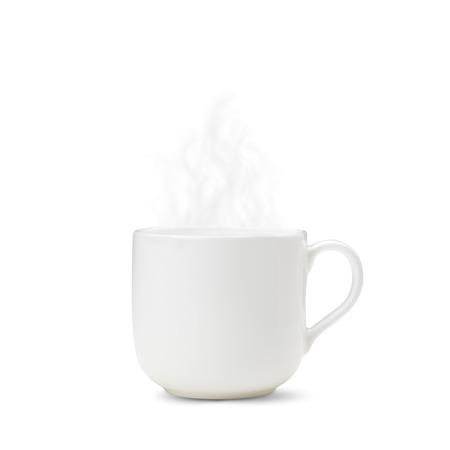 pottery: Hot Coffee Stock Photo