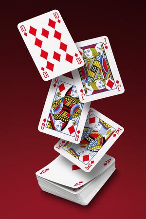 Spielkarten  Standard-Bild - 45934332