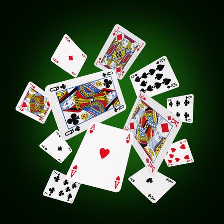 Spielkarten  Standard-Bild - 45934349