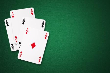 four of a kind: Four Aces