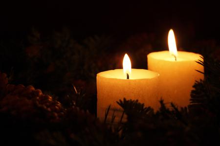 yeloow: Christmas candle