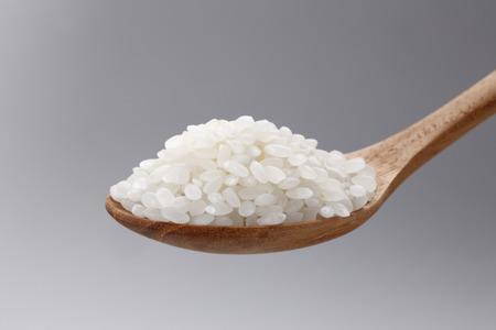 white rice: White rice Stock Photo