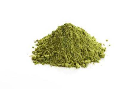 Matcha e tè verde in polvere Archivio Fotografico - 46190840