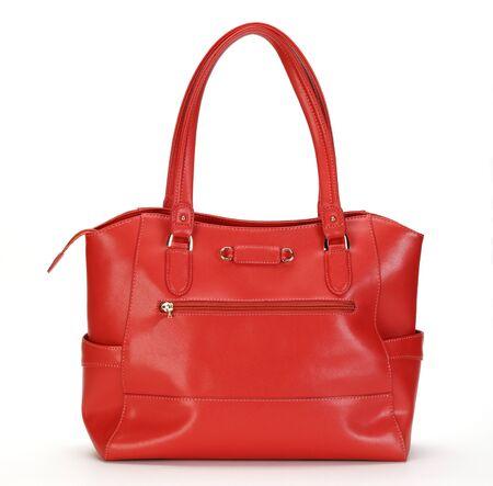 88aeee1bf69ba3 Mooie Rode Vrouwelijke Portemonnee Geïsoleerd Op Wit Royalty-Vrije ...