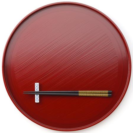 Ropa de mesa japonesa Foto de archivo
