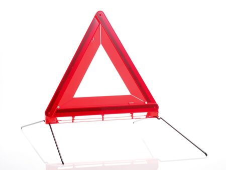emergency sign: Red Emergency Sign