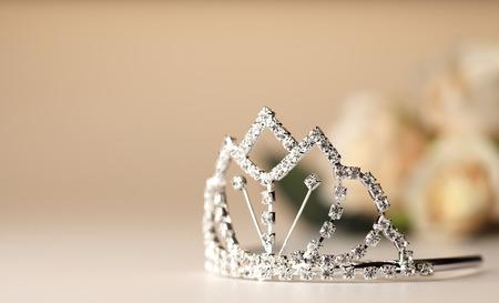 beauty contest: Beautiful wedding tiara