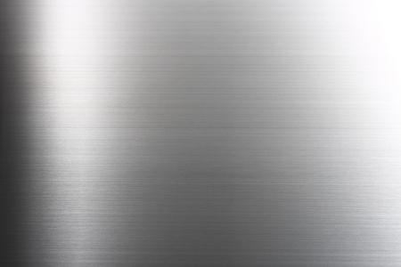 metales: Cepillado abstracta de metal de la textura fondo Foto de archivo