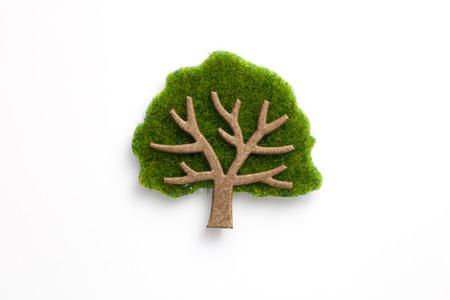 paper craft: TreeHand Arte de papel papel hecho árbol artesanía