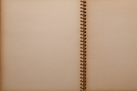 photo album page: Old Photo Album Stock Photo