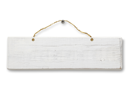 hanging on: Blank Wooden Sign