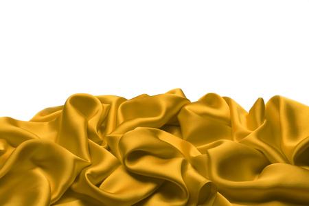 silks: Gold silk textile background