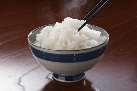 arroz blanco: El arroz blanco RiceSteamed