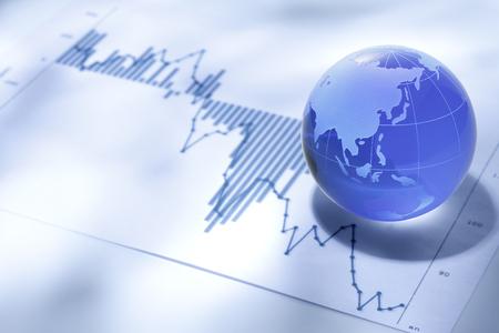 글로벌 비즈니스 및 금융 스톡 콘텐츠